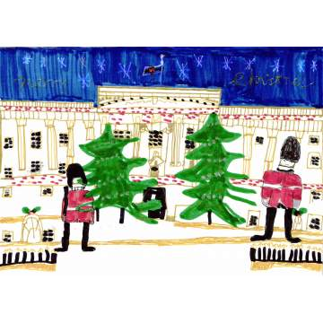 Christmas card entry - Joshua Eagles from the Brier School