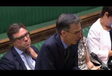 Hong Kong Urgent Question: Mike Wood MP