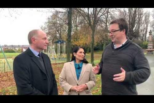Mike Wood & Marco Longhi speak to Priti Patel about tackling illegal traveller encampments